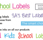 Smart School Labels & Stickers - Cape Town