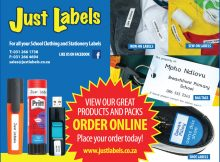 Just Labels - Self Adhesive Labels - School Labels